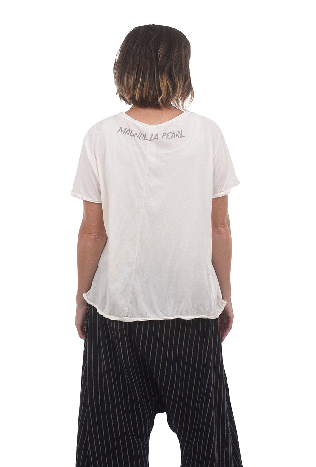 Magnolia Pearl MP Amoret Tee, True Off-White One Size Off-White