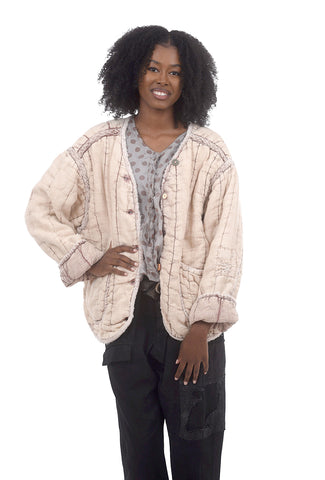 Magnolia Pearl Quilted Tulay Puff Jacket, Sakura Blush One Size Blush