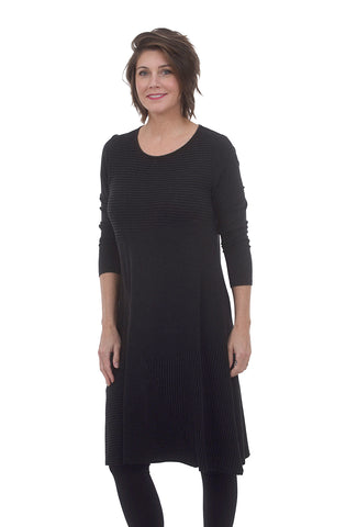 Kozan Amber Dress, Black
