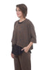 Gershon Bram Cindy Knit Top, Brown