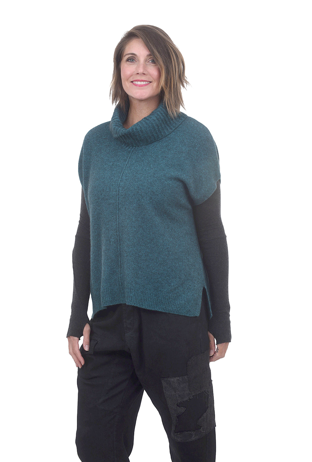 Mansted Cuddly Zo-Bee Vest, Teal