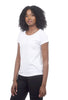 Beyond Threads Pima Interlock Tee, White