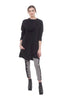 Cynthia Ashby Meru Knit Tunic, Black