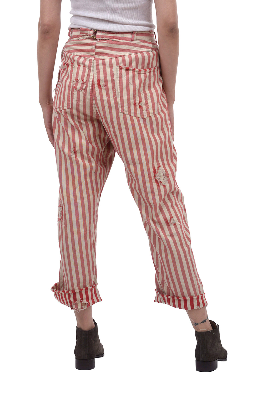 Magnolia Pearl Cotton Denim Miner Pants, Big Top Red One Size Red