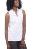 Beyond Threads Brisa Sleeveless Shell, White