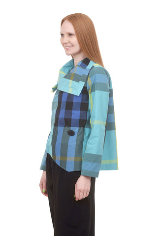 Liv by Habitat Suzanne Jacket, Waterfall Multi