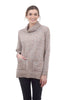 Sisters Woolly Sweater Pocket Tunic, Blush