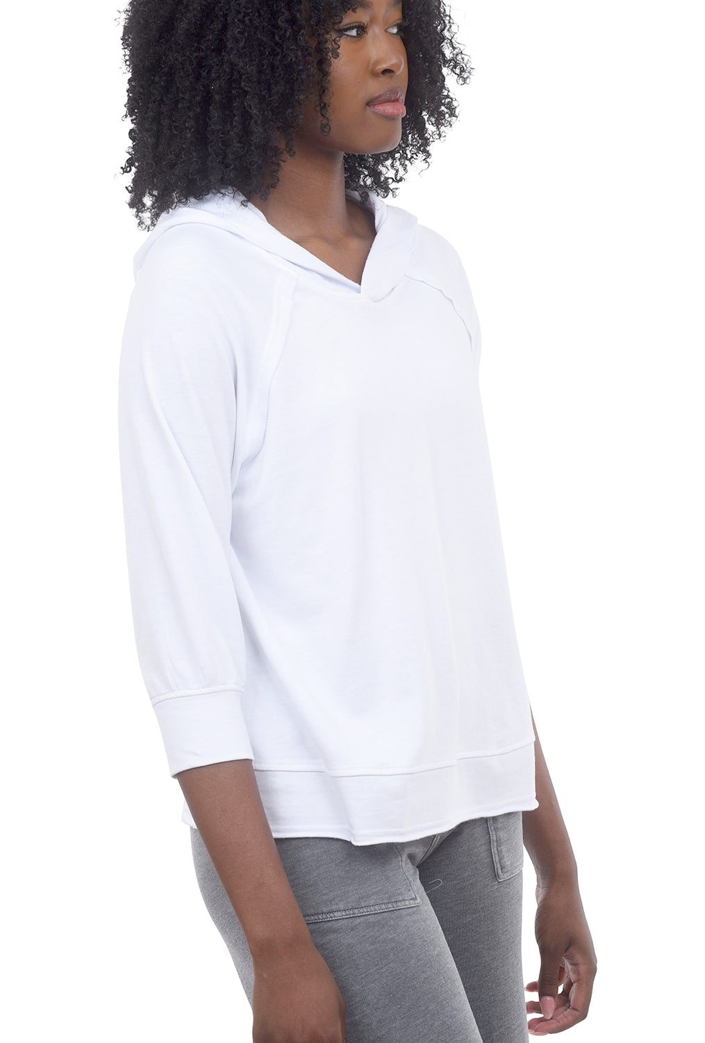 Wearables by XCVI Shula Hoodie, White