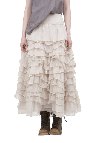 Magnolia Pearl Ruffled Angelique Skirt, Moonlight One Size Moonlight
