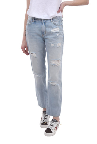 Hidden Denim Tracey Hi-Rise Mom Jean, Light Blue