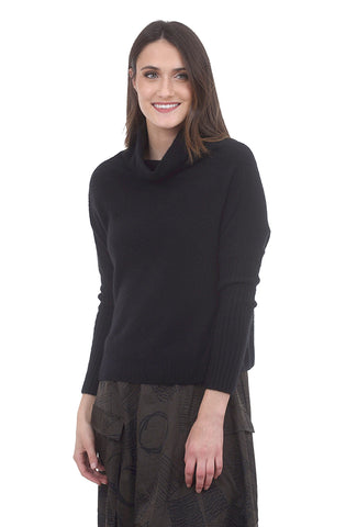 Not Monday Abigail Luxe Cashmere Sweater, Black