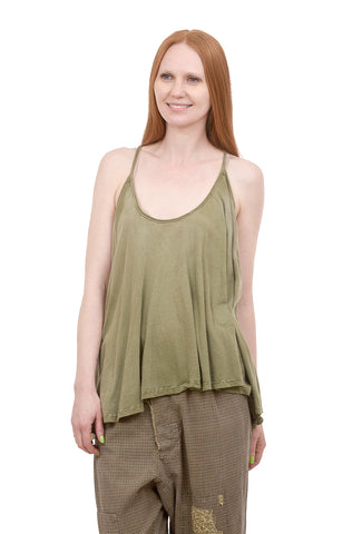Magnolia Pearl Indy Tank, Peace Green One Size Green