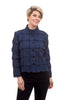 Liv by Habitat Windowpane Crop Jacket, Indigo