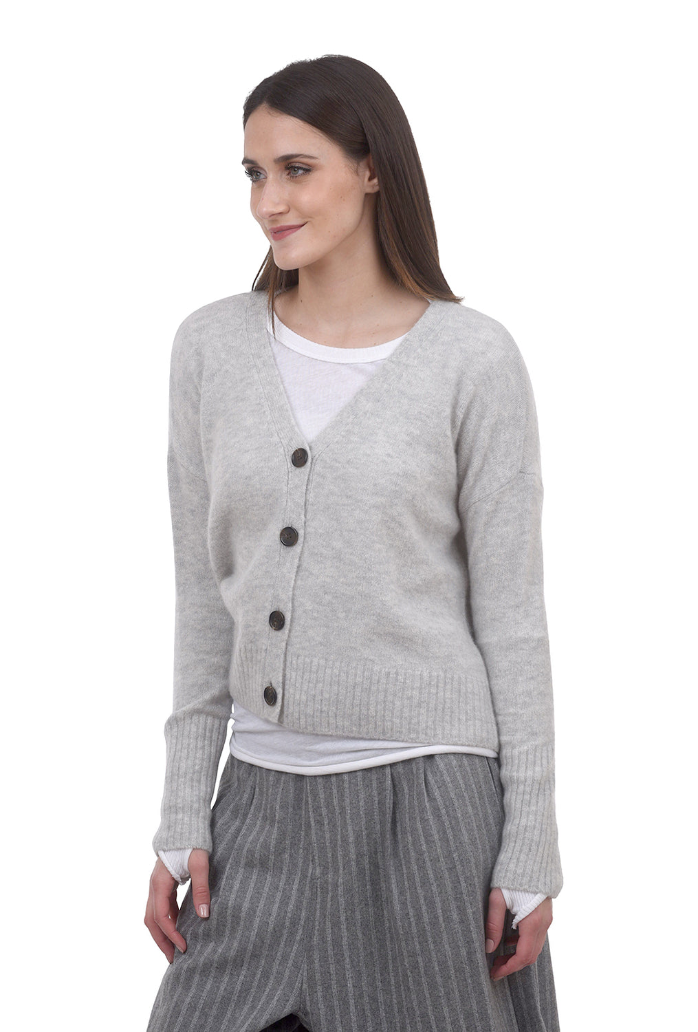 Not Monday Delilah Luxe Cashmere Cardie, Mist