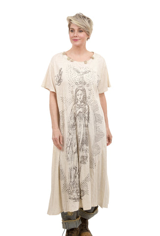Magnolia Pearl Jersey Tee Dress, Mary of Prosperity/Moonlight