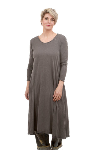 Magnolia Pearl Dylan T-Shirt Dress, Ozzy Gray One Size Gray