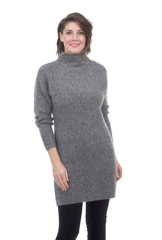 RD International Asym RD Sweater Tunic, Gray