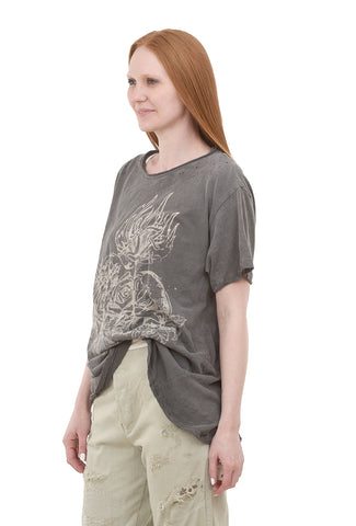 Magnolia Pearl New Boyfriend Tee, Heart of Promise One Size Ozzy