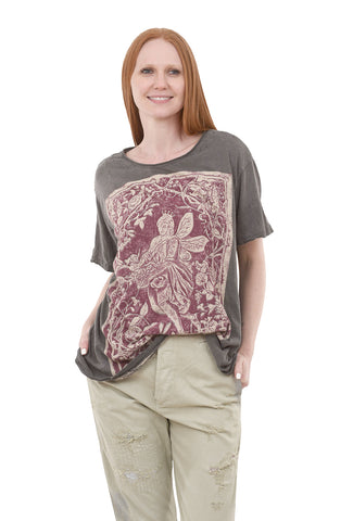 Magnolia Pearl New Boyfriend Tee, Healer of Nature One Size Ozzy