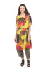 Bella Amore Watercolor Palette Dress, Yellow