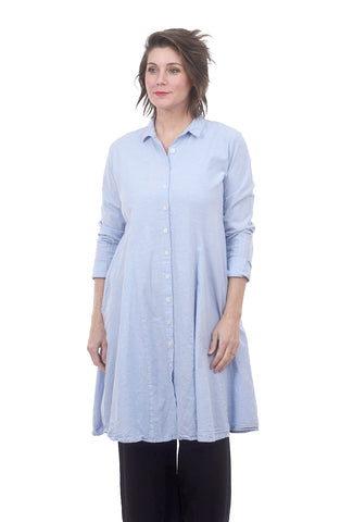 Tulip Flynn Shirt, Light Blue