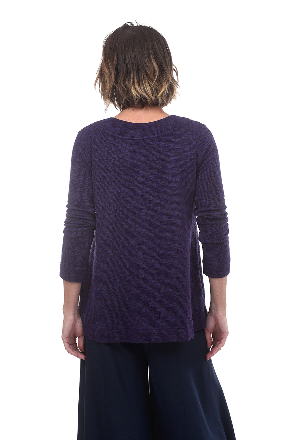 Cut Loose Crimped Pocket Pullover, Dewberry