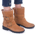 Sorel Phoenix Moto Cozy Boot, Camel Brown