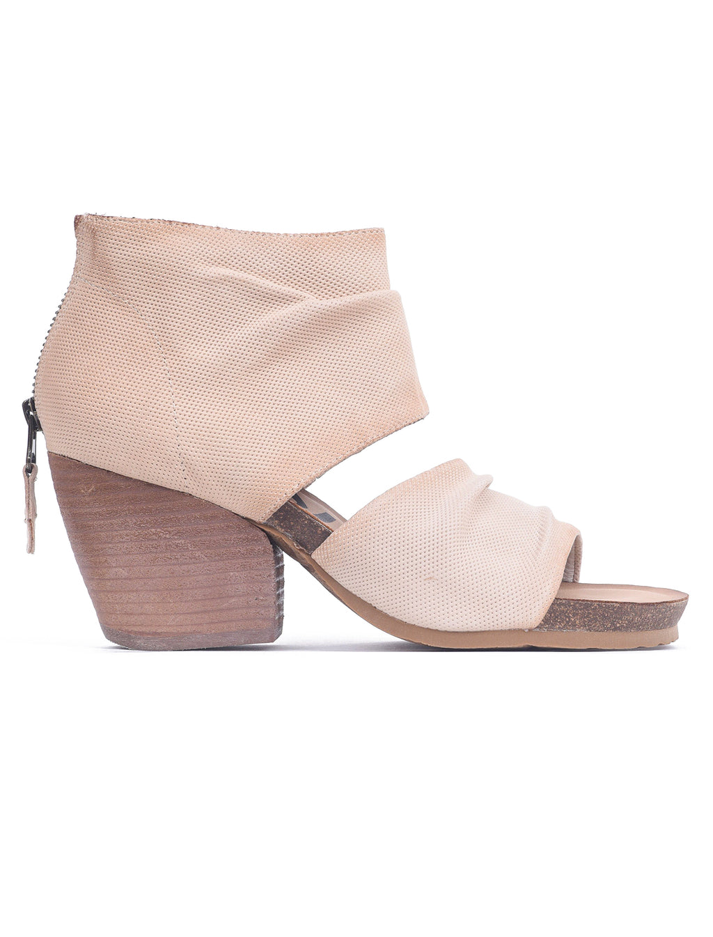 OTBT Shoes Patchouli Heels, Ivory Perf