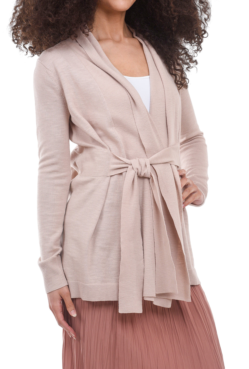 Margaret O'Leary Knits Tie-Front Duster, Shell