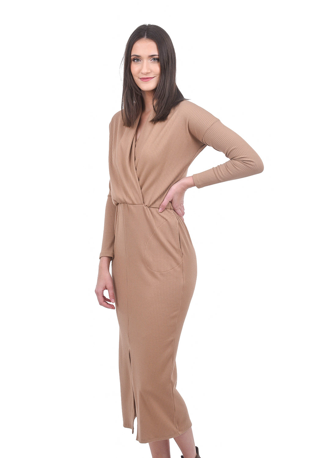 Sarah Liller Lana Dress, Camel
