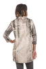Veronique Miljkovitch Pocket Logan Fleece Dress, Cement Print