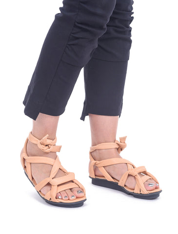 Trippen Shoes Lust Penna Sandal, Pale Peach Waw