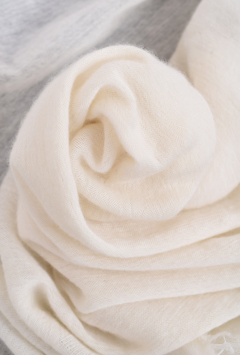 Grisal Cashmere Love Boho Scarf, Beige One Size Beige