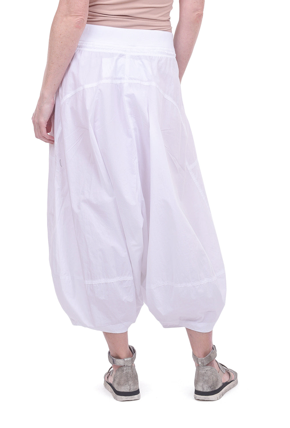 Rundholz Black Label Poplin Lantern Pants, White