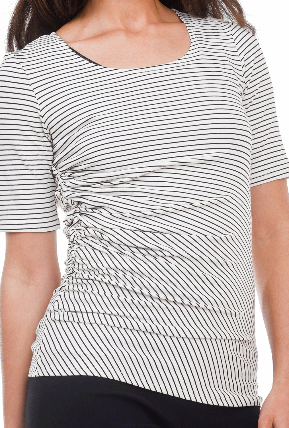 Sarah Liller Inga Top, Cloud Stripe