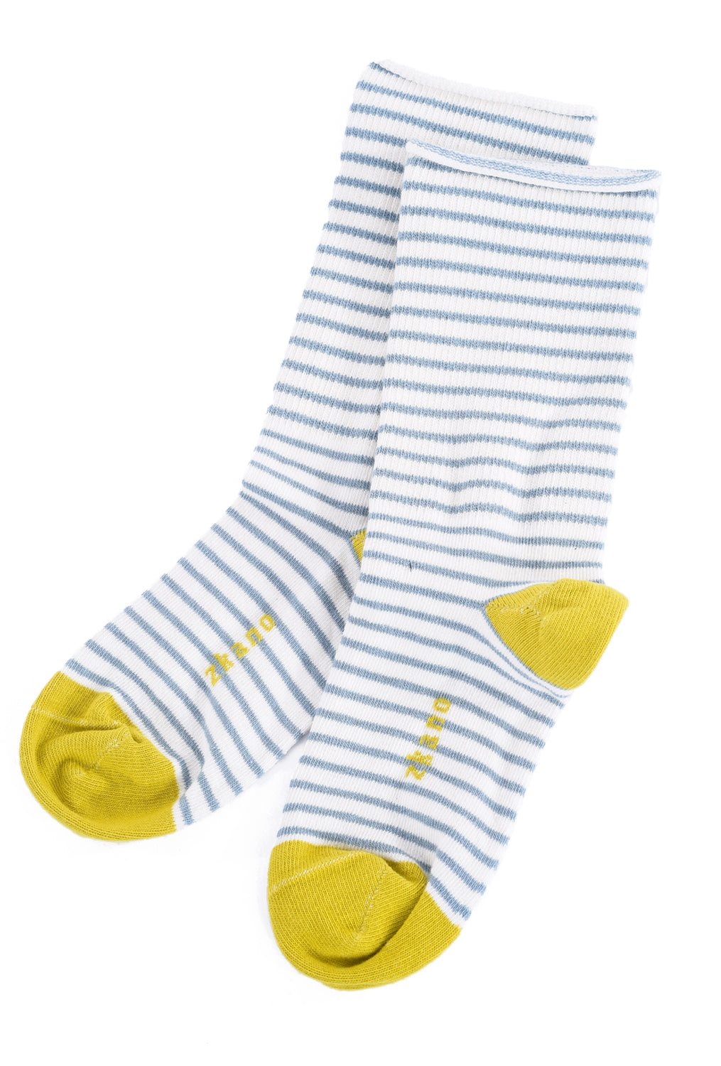 Little River Sock Mill Rose Stripe Slouch Socks, Natural