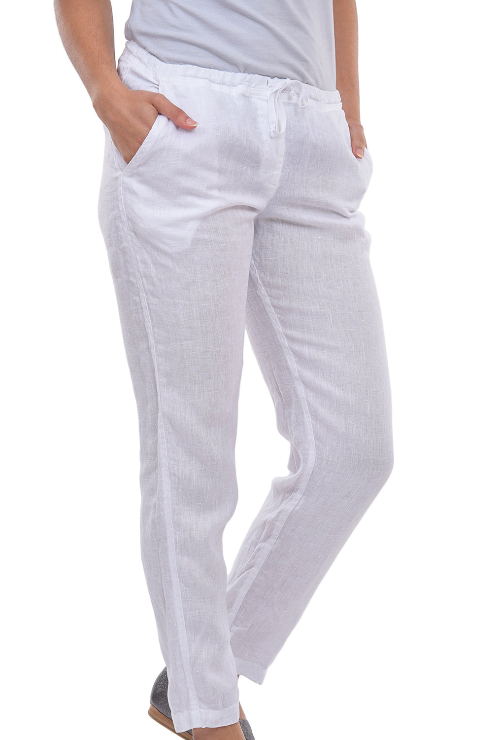 CP Shades Hampton Pants SS19, White