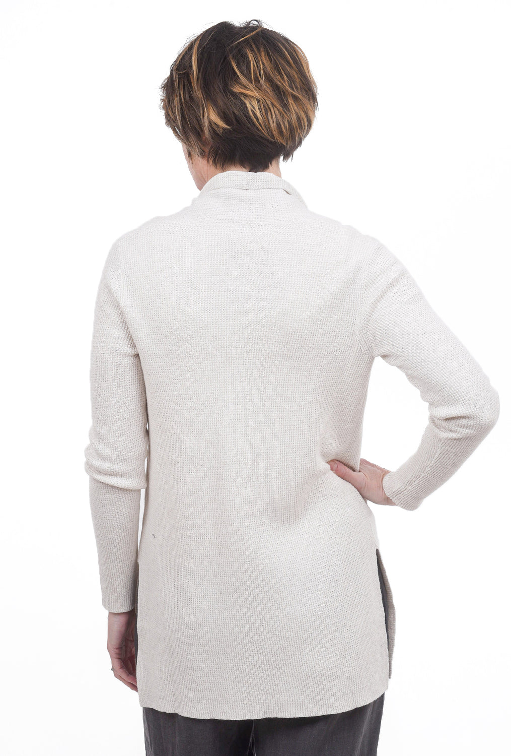 Margaret O'Leary Knits Thermal Duster, Oatmeal