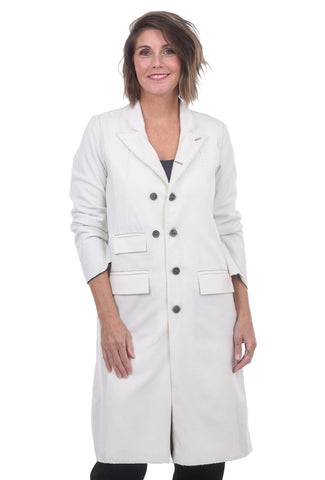 Umit Unal Snow White Coat, White
