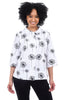 Snapdragon & Twig Alice Shirt, White/Dandelion