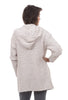 Barefoot Dreams Boucle Hooded Cardie, Almond