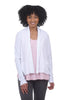 Cut Loose Cropped LJ Swing Jacket, White