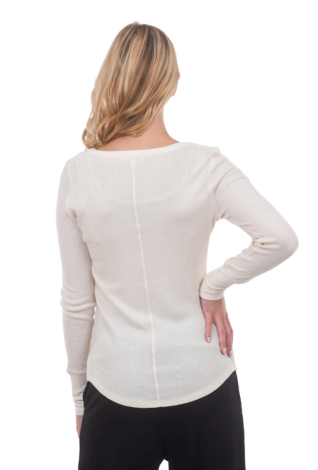 P.J. Salvage Basil L/S Top, Stone