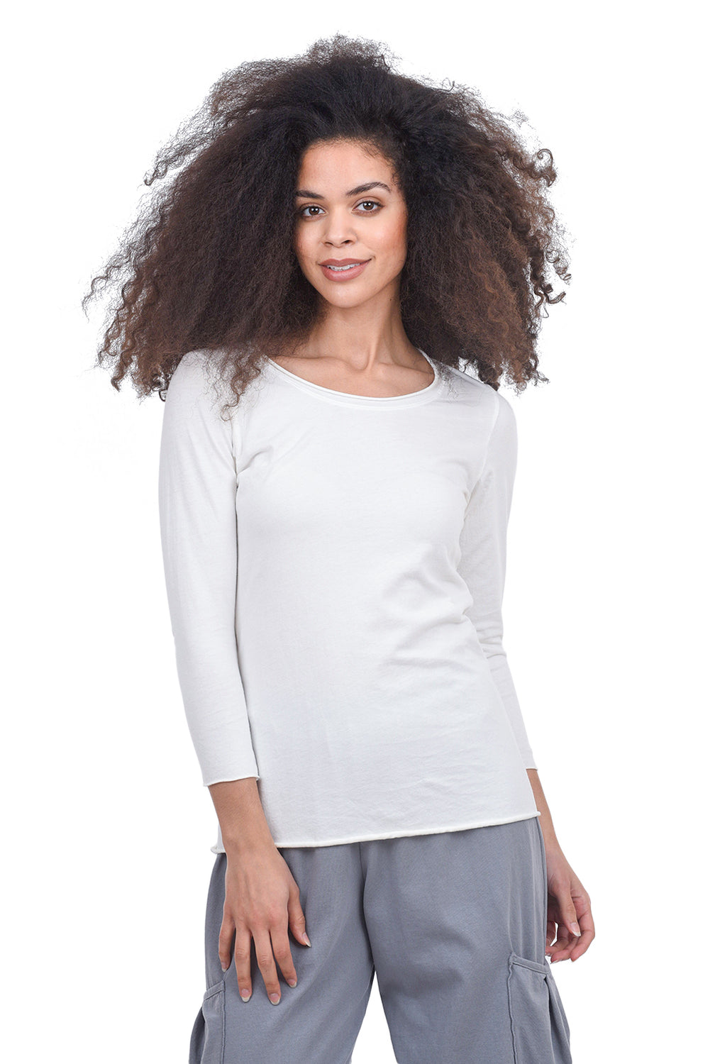 Cynthia Ashby CA Favorite Tee, White
