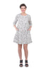 Two Danes Thorid Seashore Dress, Gray Sand