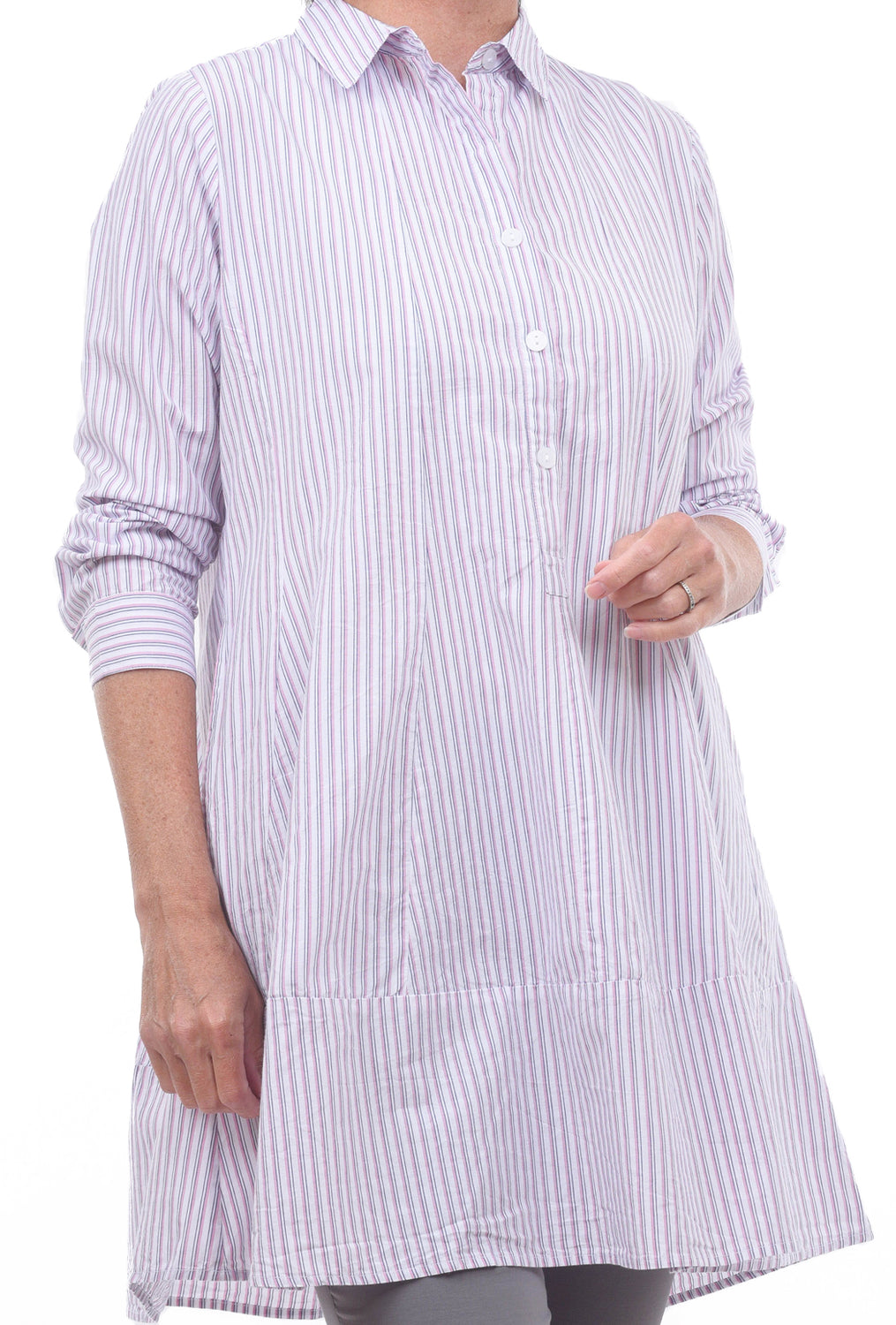 Tulip Gillian Shirt, Montclair Stripe