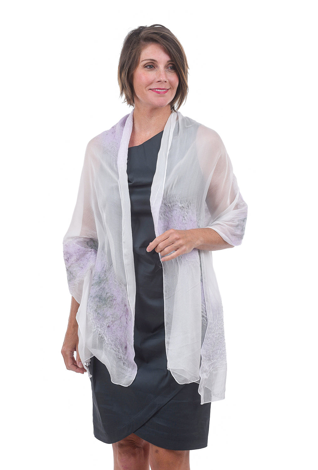 Christa Louise Romance Wrap, Giverny One Size GIverny