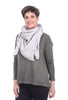 It Is Well ISW Gauze Scarf, Zinc One Size Zinc