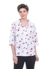 Snapdragon & Twig Alice Shirt, White Patter
