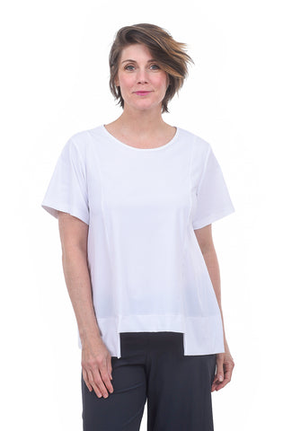 Porto Corfu Top, White